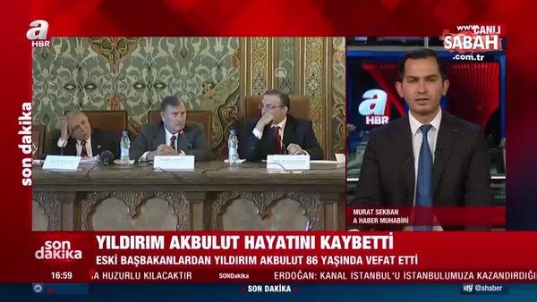 SON DAKİKA: Eski Başbakan Yıldırım Akbulut hayatını kaybetti! Yıldırım Akbulut kimdir?   Video