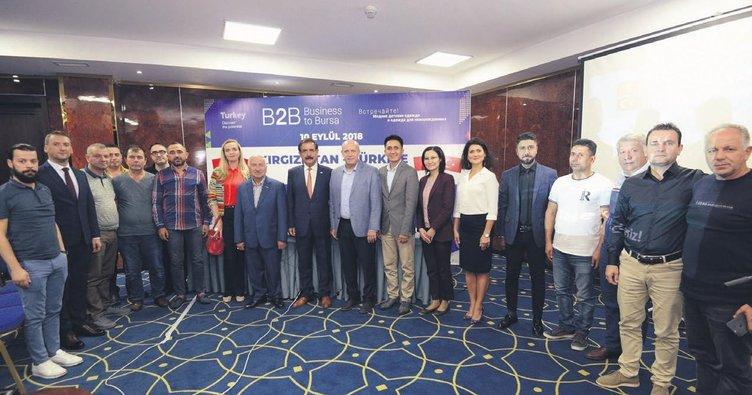 Bursa'dan Kırgızistan'a ihracat seferi