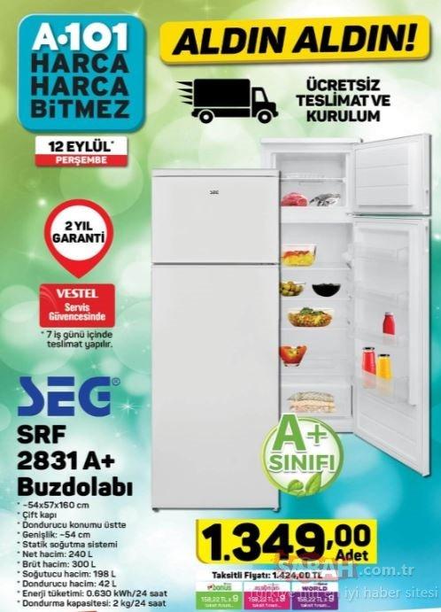 A101 aktüel indirimli ürünler kataloğu yayınlandı! 12 Eylül A101 aktüel ürünler tam listesi yayında!