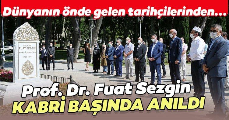 Prof. Dr. Fuat Sezgin kabri başında anıldı
