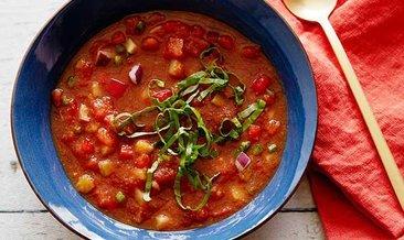 Masterchef Gazpacho tarifi ve yapılışı için gerekli malzemeler! Gazpaço çorbası nasıl yapılır?
