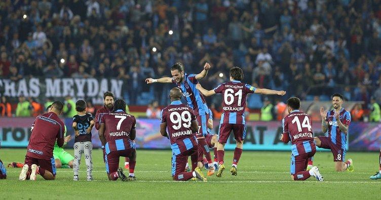 Trabzonspor, son 8 sezonun en iyisi