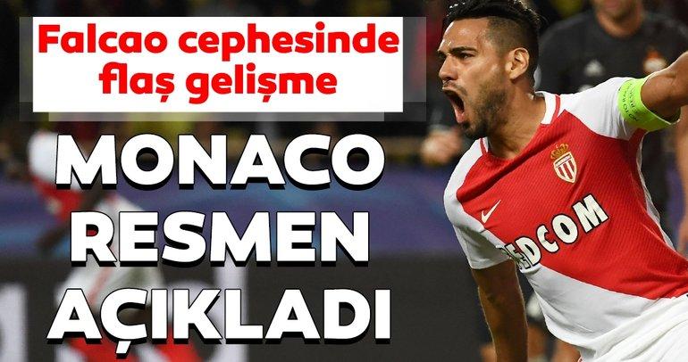 Son dakika Galatasaray transfer haberleri! Radamel Falcao transferinde Monaco'dan flaş karar!
