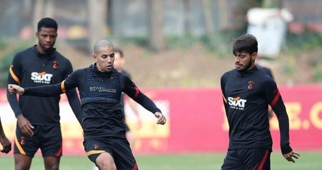 Galatasaray'da Feghouli antrenmana katıldı