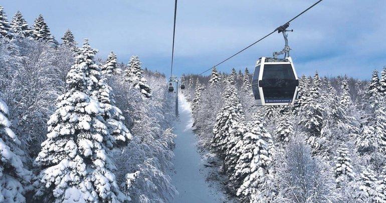 Türkiye'den kayak manzaraları