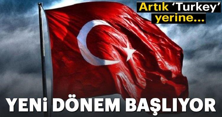 Turkey gidiyor Turkish geliyor