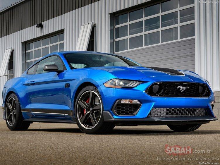 Karşınızda Ford Mustang Mach 1! 485 beygirlik yeni canavar