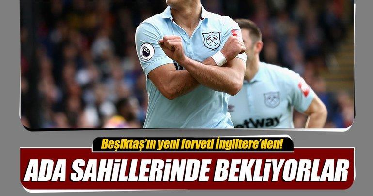 Beşiktaş'ta forvet operasyonu başladı