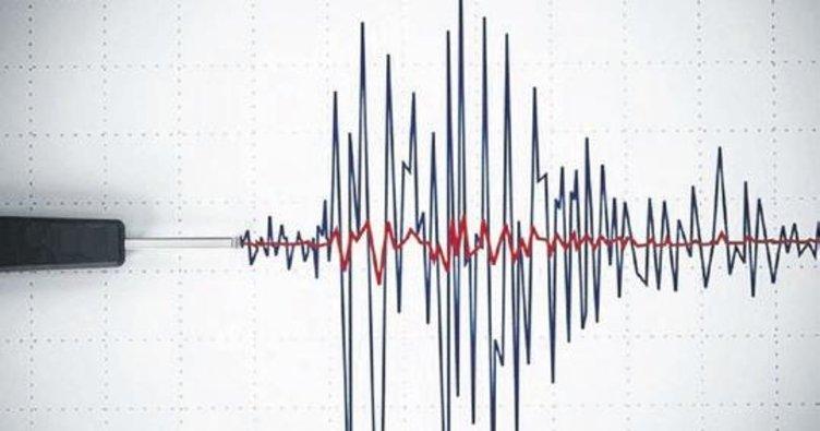 Ege'de deprem meydana geldi