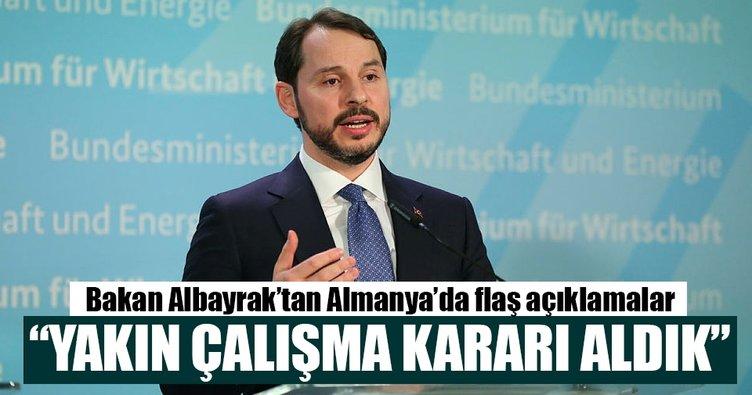 Bakan Albayrak: Almanya, Türkiye için vazgeçilemez çok önemli bir ortak ve partnerdir