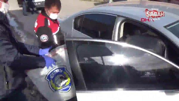 Kütahya tartıştığı eşini otomobille kaçırıp işyerine kilitleyen koca gözaltına alındı | Video