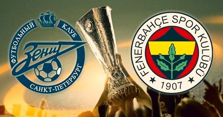 Fenerbahçe Zenit Maçı Hangi Kanalda: Zenit Fenerbahçe Maçı Hangi Kanalda Yayınlanacak? Zenit