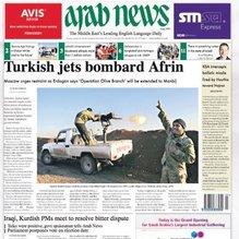 Dünya basınında Zeytin Dalı Harekâtı