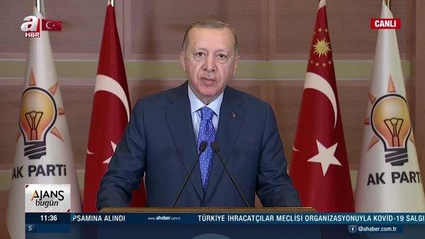 Cumhurbaşkanı Erdoğan AK Parti 7. Olağan Denizli - Mersin - Uşak İl Kongrelerine canlı bağlantı ile katıldı | Video