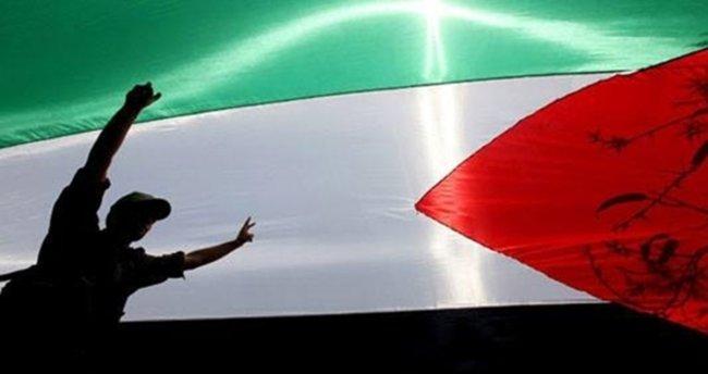 Gazze'de işsizlik protestosu