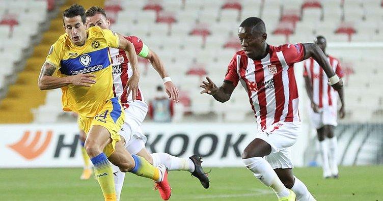 Sivas'ta kazanan Maccabi Tel Aviv! Sivasspor 1-2 Maccabi Tel Aviv MAÇ SONUCU
