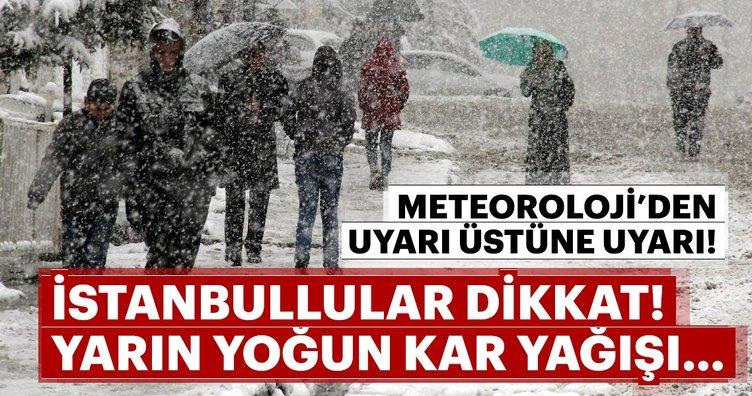 Meteoroloji Genel Müdürlüğü'nden son dakika kritik hava durumu uyarısı geldi! Kar ne zaman yağacak?