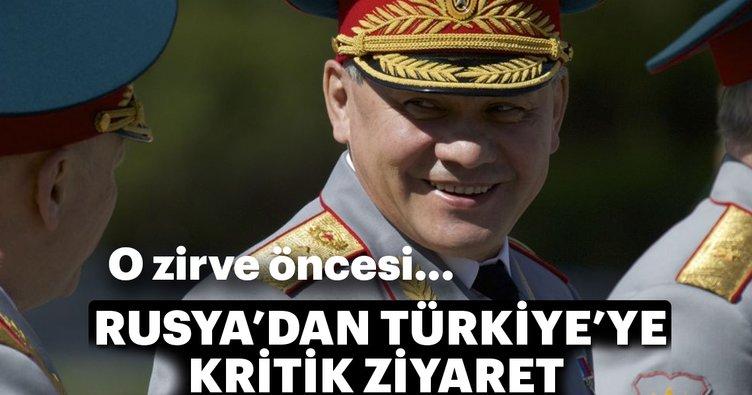 Rusya Savunma Bakanı Sergey Şoygu bugün Ankara'ya gelecek
