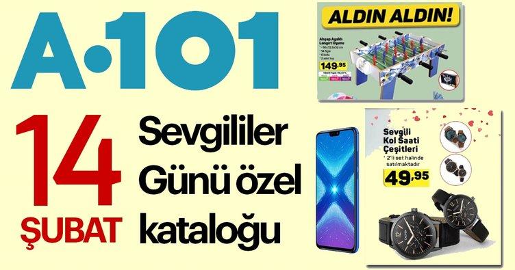 A101 14 Şubat aktüel ürünler listesi açıklandı! A101 14 Şubat Sevgililer günü aktüel kataloğu burada