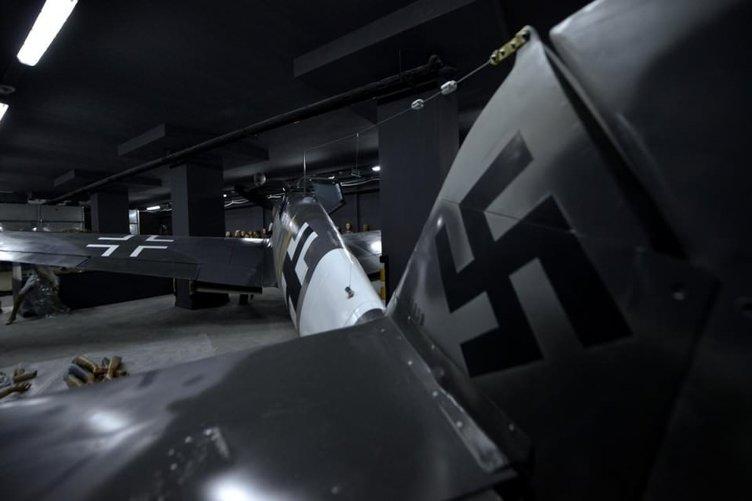 Hitler'in avcı uçağı İstanbul'da