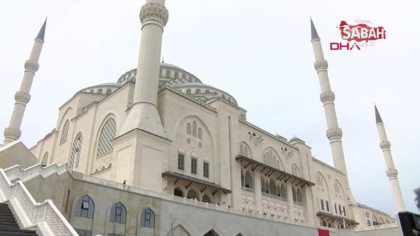 Cumhurbaşkanı Erdoğan Çamlıca Camii'nde Cuma namazı ardından cemaate seslendi