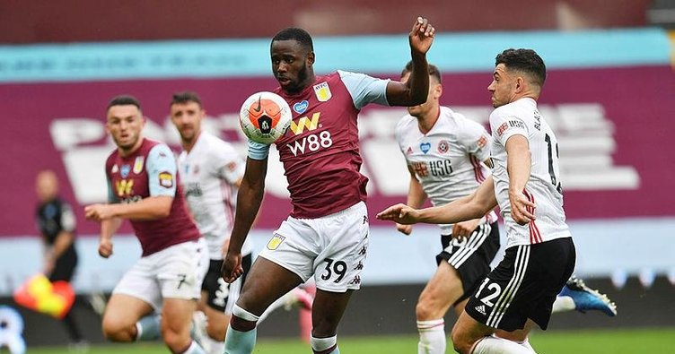 Aston Villa ile Sheffield United yenişemedi!