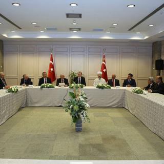 Cumhurbaşkanı Erdoğan 10 Muharrem İftarı`na katıldı