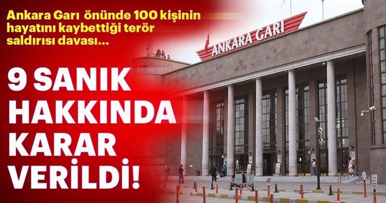 Son dakika: Ankara Garı önünde 100 kişinin hayatını kaybettiği terör saldırısı davasında karar!