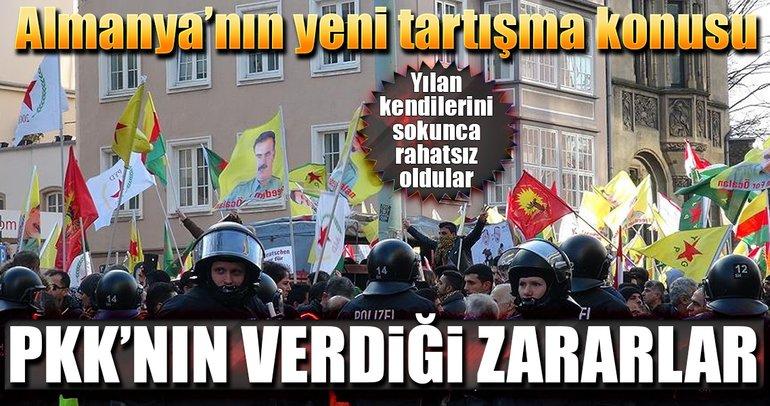Almanya PKK'nın ekonomiye verdiği zararı tartışıyor