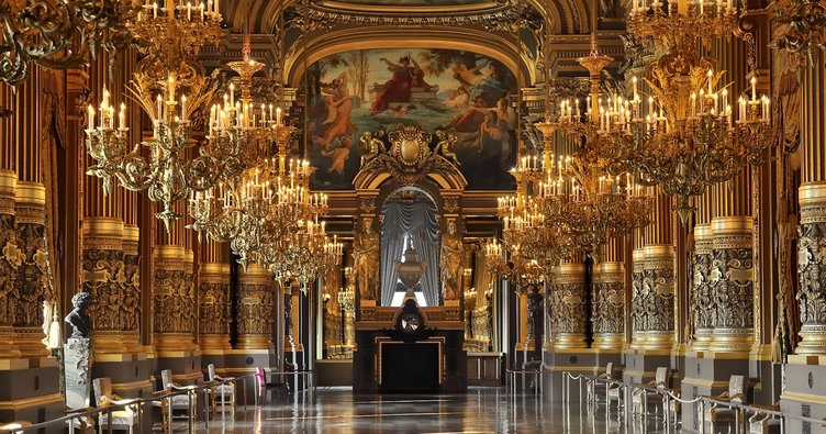 Paris'teki opera binasında mühimmat bulundu