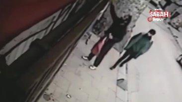 Beykoz'da Azerbaycan ve Türk bayraklarına çirkin saldırı kamerada | Video