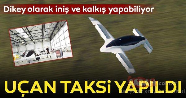 Uçan taksi saatte 100 km hızı aştı