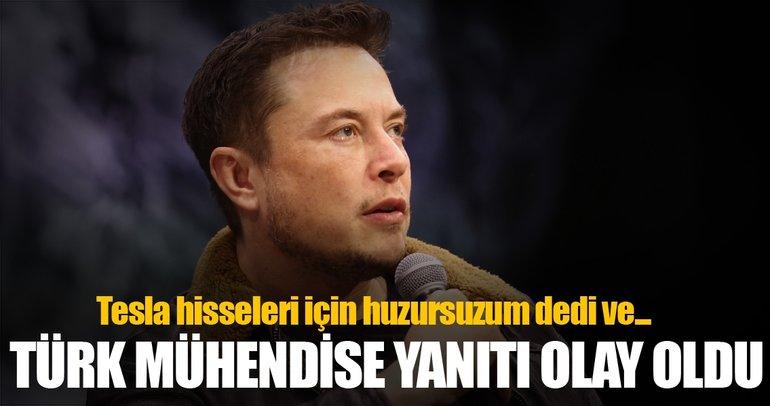 Elon Musk'tan Türk mühendise şok yanıt
