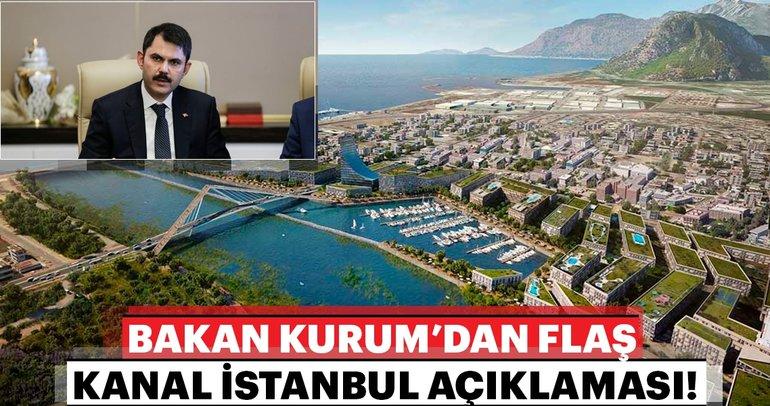 Kanal İstanbul bizim için en önemli proje