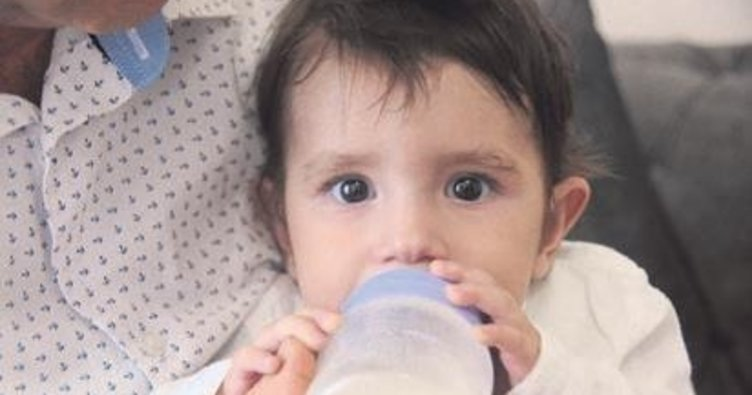 9 aylık Alp bebek, yapay damar bekliyor