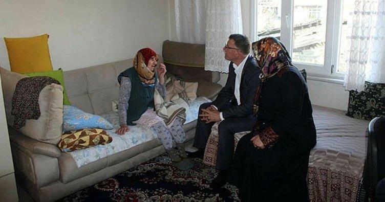 Başkan Duymuş, hasta ve yaşlıları ziyaret etti