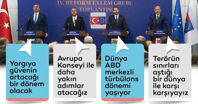 4. Reform eylem grubu toplantısı sonrasında önemli mesajlar!