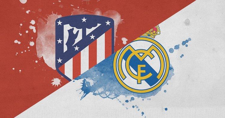 Real Madrid Atletico Madrid maçı saat kaçta hangi kanalda canlı yayınlanacak? Real Madrid Atletico Madrid maçı şifresiz mi izlenecek?