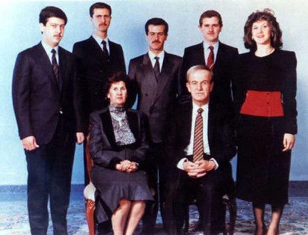İşte Esad ailesi