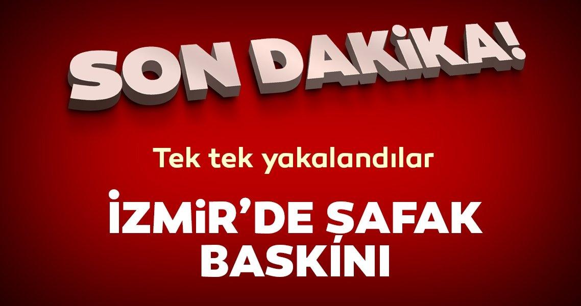 Son dakika haberi: İzmir'de 2'si aktif polis olmak üzere 20 Bylockçuya şafak baskını düzenlendi!