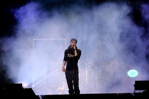 Enrique Iglesias İstanbul'u salladı