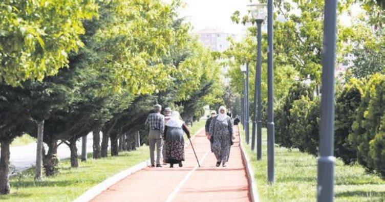 Pandemi sürecinde 22 park