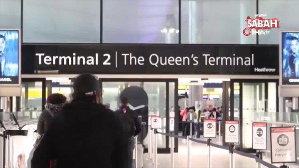 Son dakika: Ülkeler tek tek iptal ediyor! Londra'daki Heathrow Havalimanı'nda büyük panik | Video