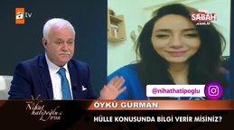 Öykü Gürman'dan Nihat Hatipoğlu'na hülle sorusu | Video