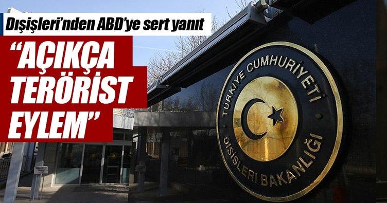 Dışişleri Sözcüsü Aksoy'dan aktif ayaklanma açıklaması