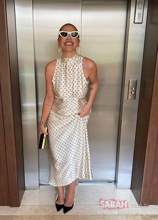 Şarkıcı Hadise karantinada 8 kilo verdi gardırobunu yeniledi! Hadise'nin yeni görünümüne beğeni yağdı!
