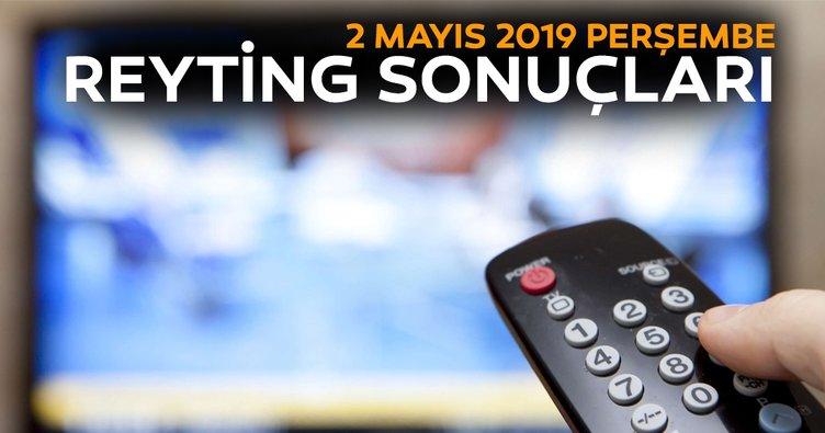 Reyting sonuçları 2 Mayıs 2019 Perşembe - Avlu, Jet Sosyete, Çarpışma ve Bir Zamanlar Çukurova reyting sonucu açıklandı