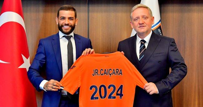 Medipol Başakşehir'den Junior Caiçara'ya 3 yıllık yeni sözleşme!
