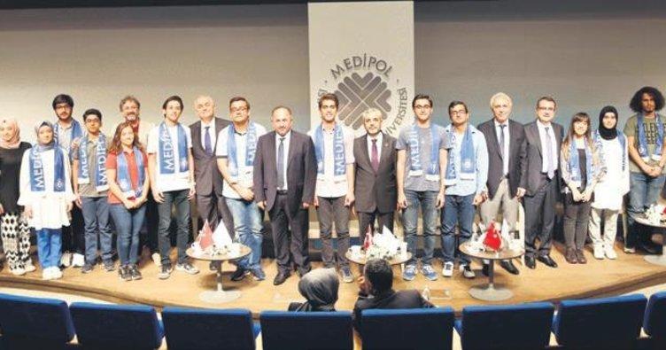 YKS şampiyonları Medipol'de