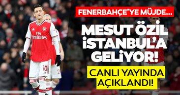 SON DAKİKA | Fenerbahçe taraftarına Mesut Özil müjdesi! Dünya yıldızı futbolcu İstanbul'a geliyor...